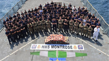 Saudi Royal Navy-commanded CTF seizes over 450 of methamphetamine, largest bust ever