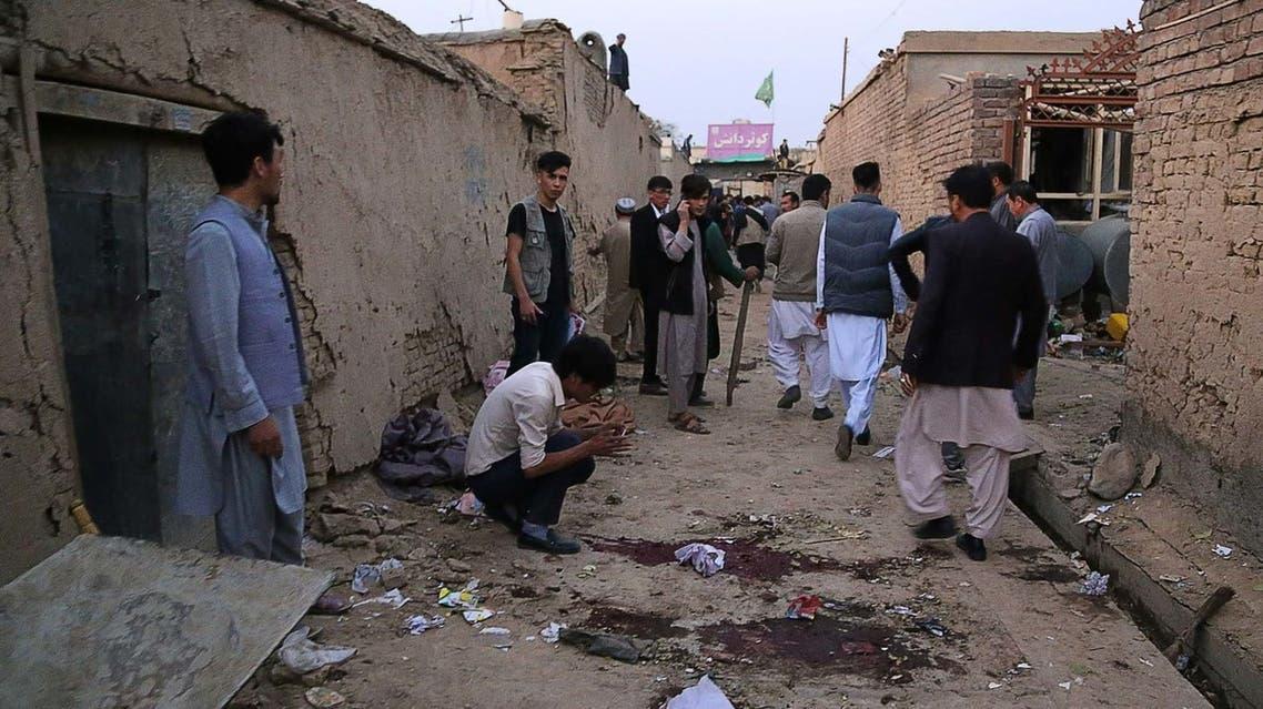 هجوم انتحاري في أفغانستان