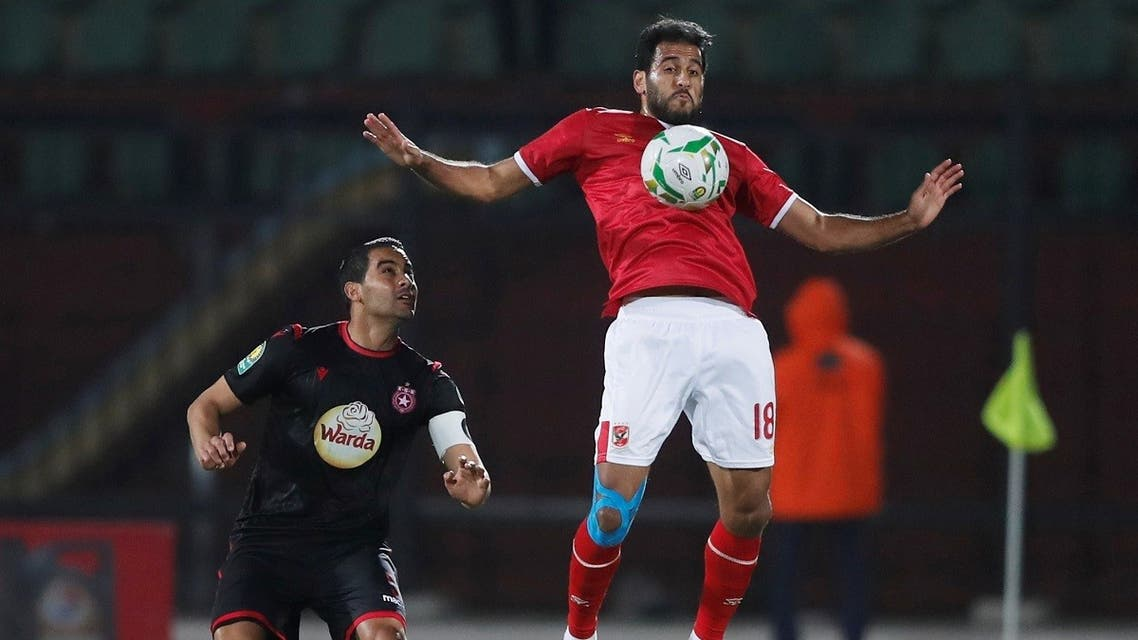 Al Ahly's Marwan Mohsen in action. (File photo: Reuters)