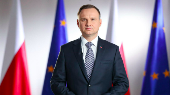 الرئيس البولندي آندريه دودا