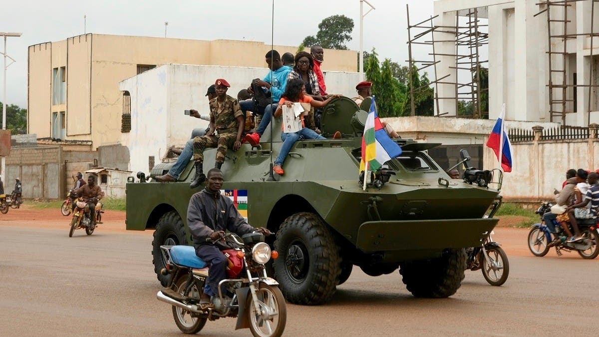 Russia sends more military equipment, advisors to Central African Republic: RIA thumbnail