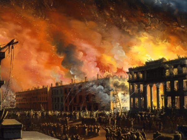 عام 1835.. حريق هزّ نيويورك ودمّر مانهاتن