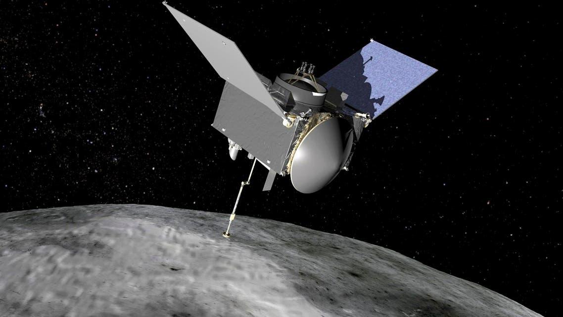 Artist rendering of NASA's OSIRIS-REx spacecraft is seen in an undated handout image. (Reuters)