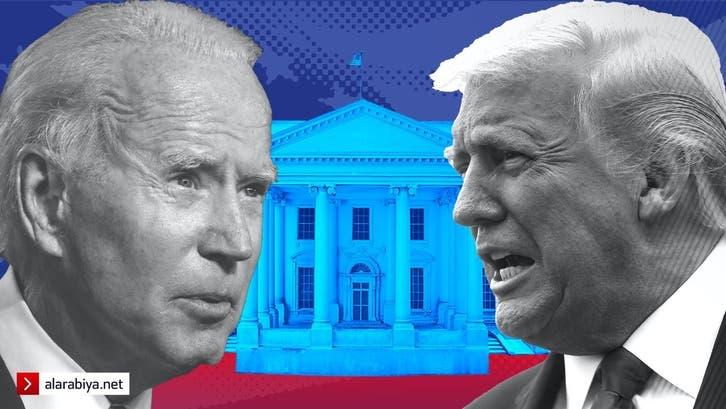 ترمب يتقدم على بايدن والناخبون السود يرجحون كفة الرئيس