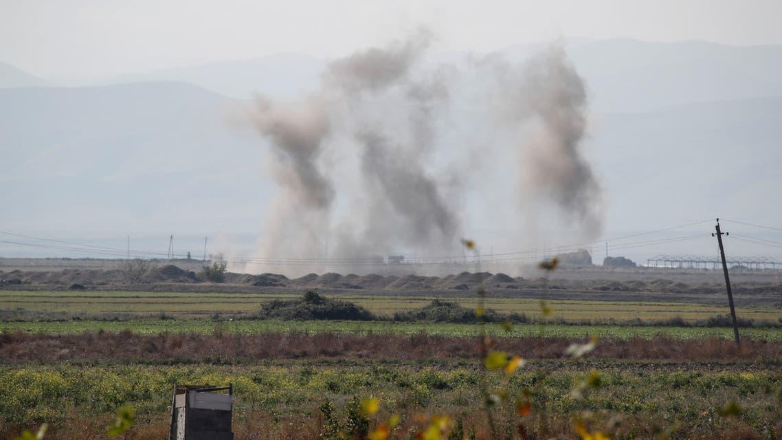 من القصف بإقليم ناغورنو كاراباخ