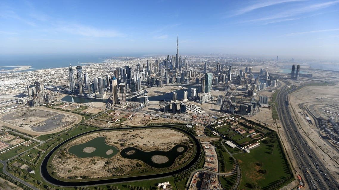 Burj Khalifa, the world's tallest tower, is seen in a general view of Dubai. (Reuters)