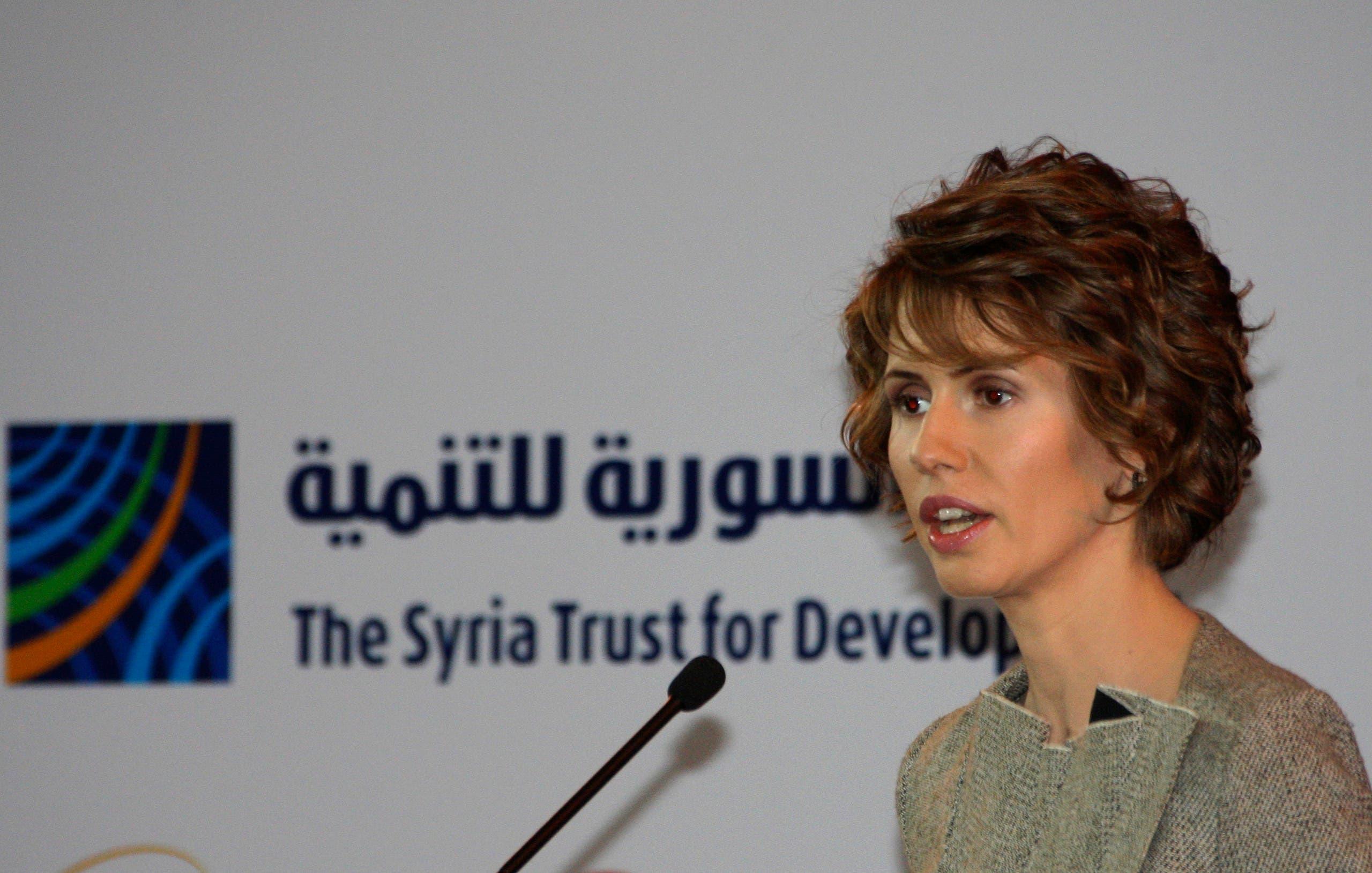 أسماء الأسد (أرشيفية)