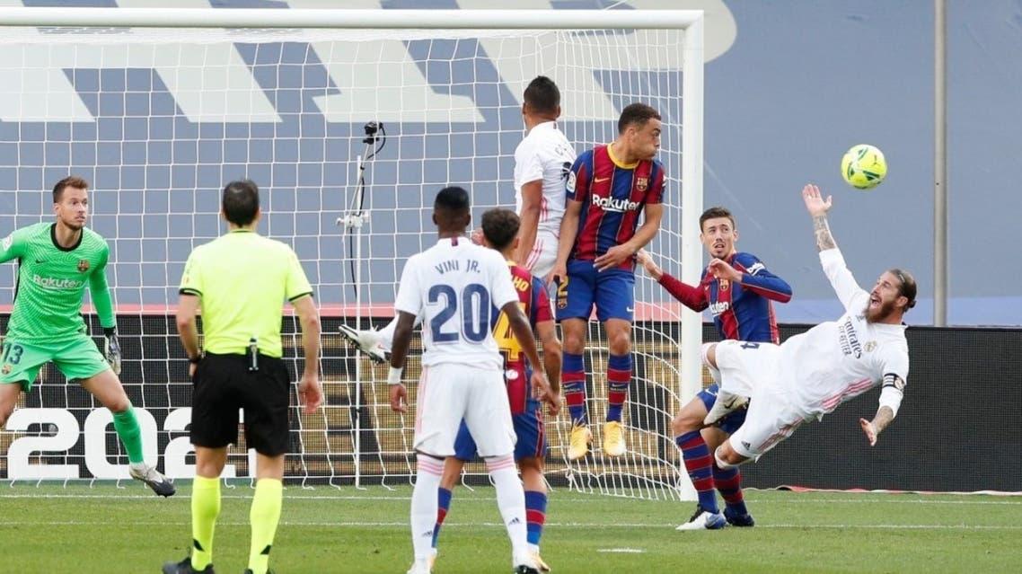 راموس لينغليه برشلونة ريال مدريد