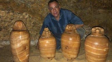 """مقبرة المشرف على """"الخزانة الملكية"""".. اكتشاف مذهل في مصر"""