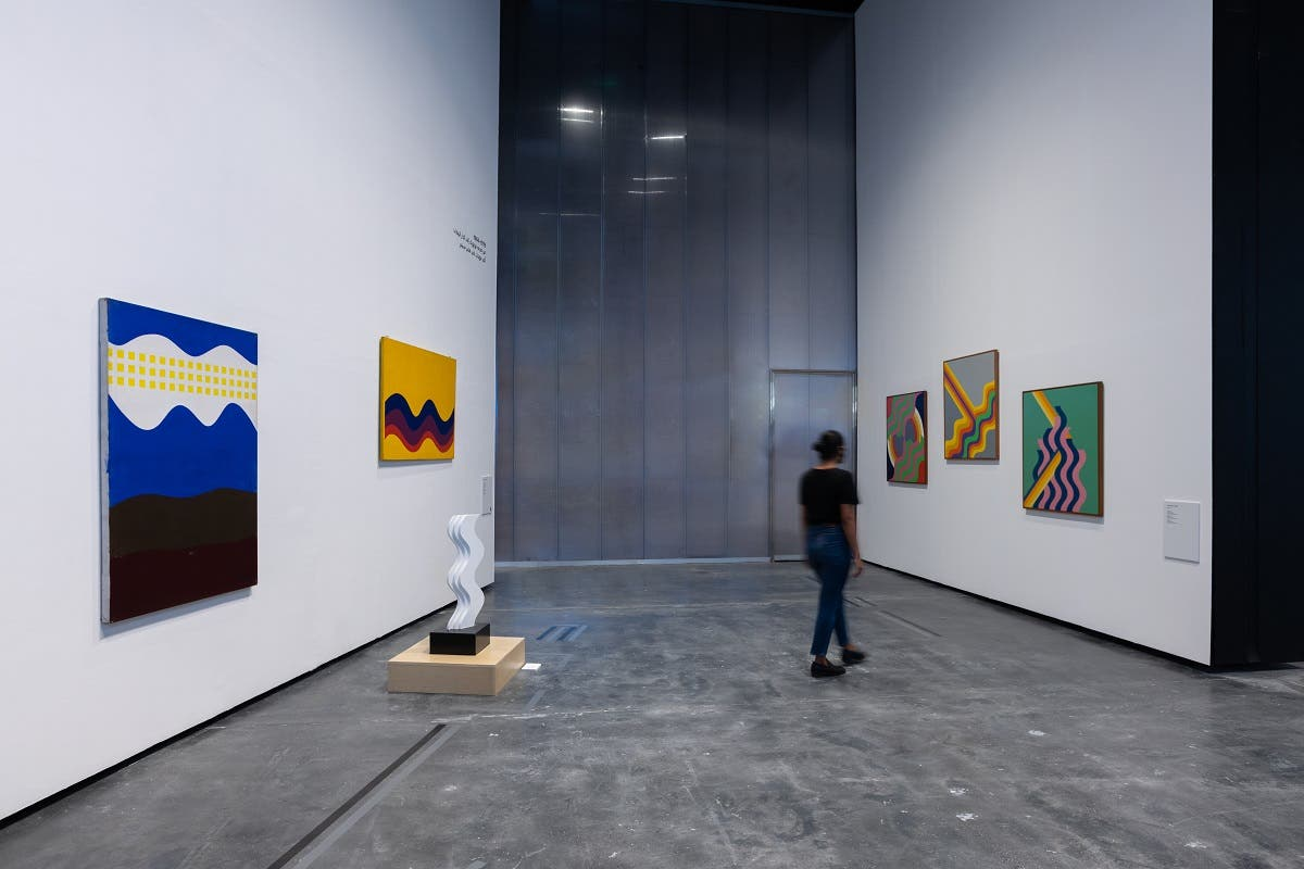 The installation view of the exhibition. (Photo by Mustafa Aboubacker  Courtesy Alserkal Avenue)