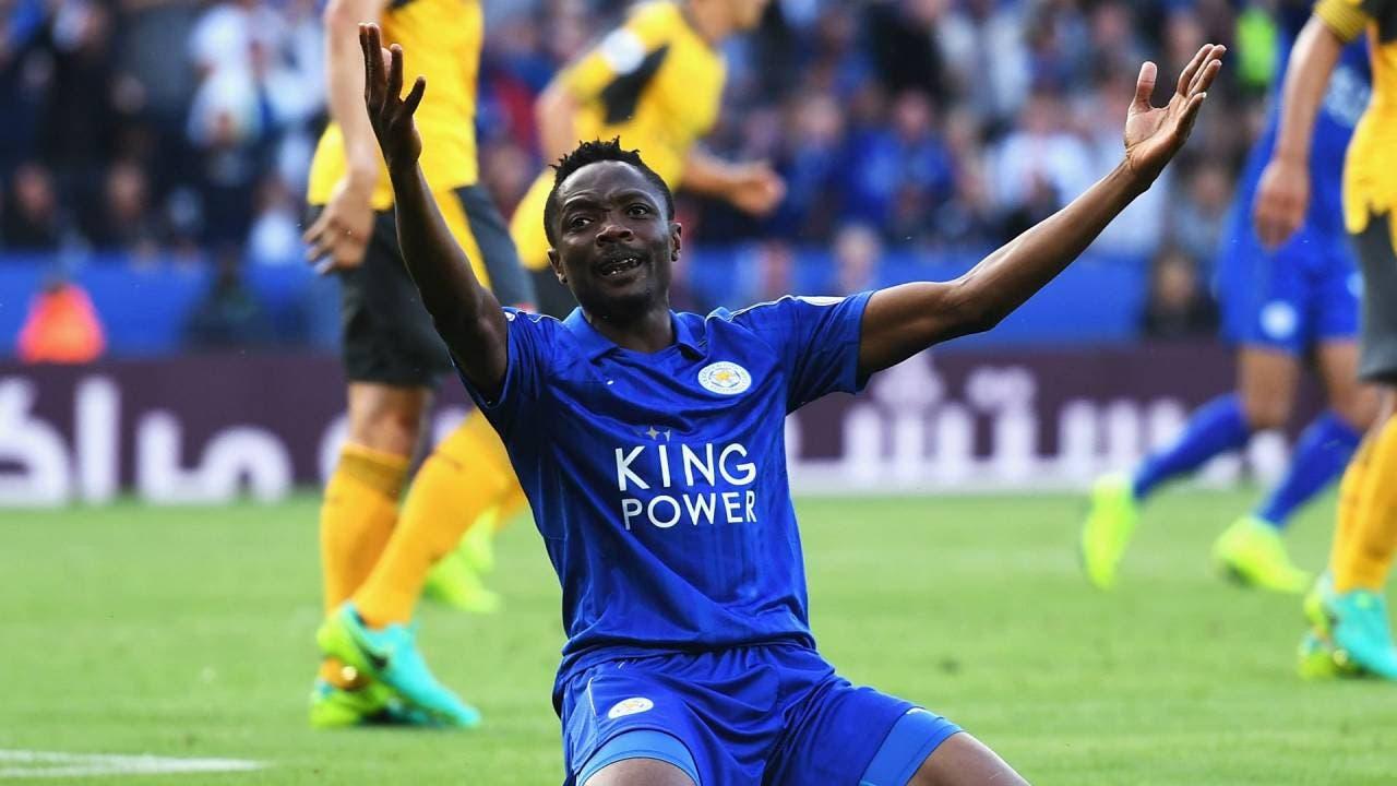 اللاعب النيجيري بقميص ليستر