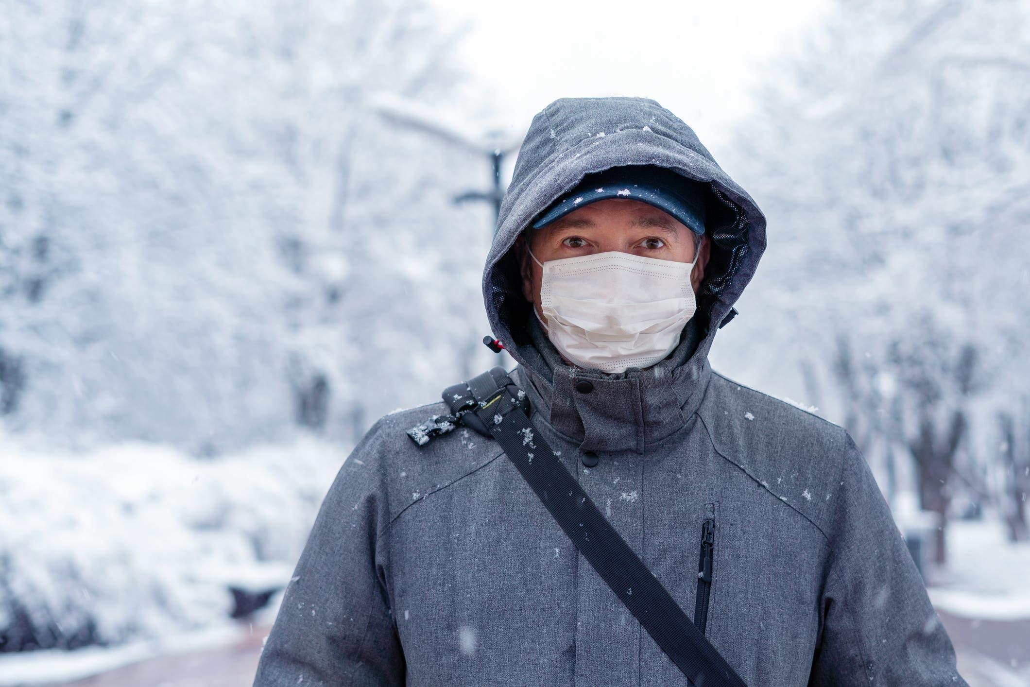 كورونا والشتاء (iStock)