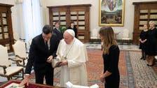 ہسپانوی وزیراعظم اور پاپائے روم میں ملاقات کے دوران ماسک نہ پہننے پر تنازع