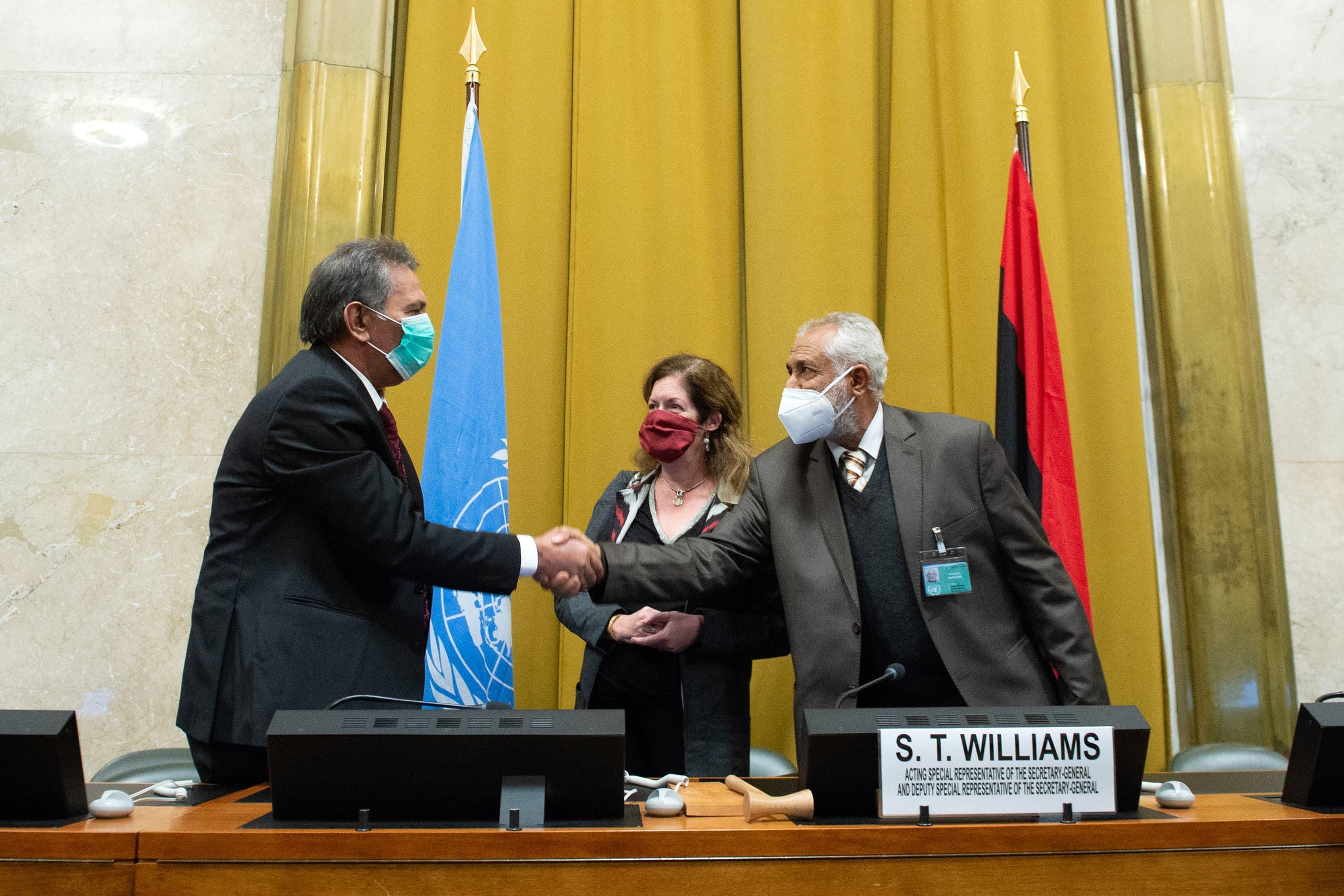 من اجتماعات 5+5 الليبية في جنيف
