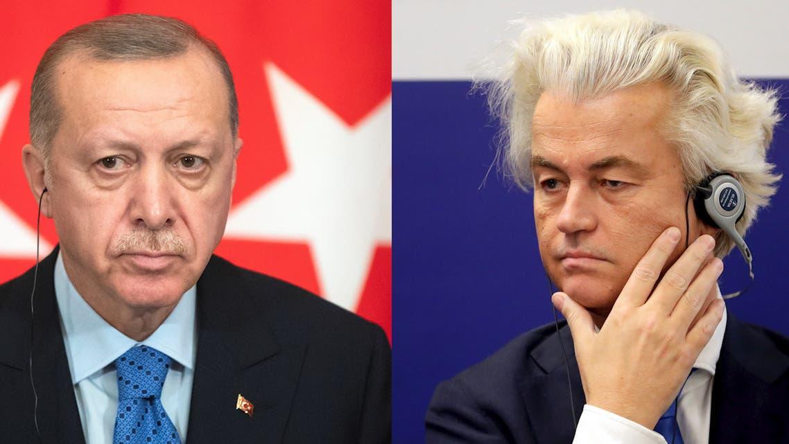 Erdogan Geert Wilders reuters