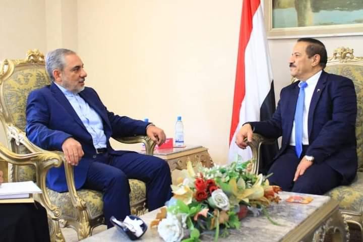سفير إيران لدى الحوثيين