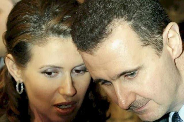 أسماء وبشار الأسد