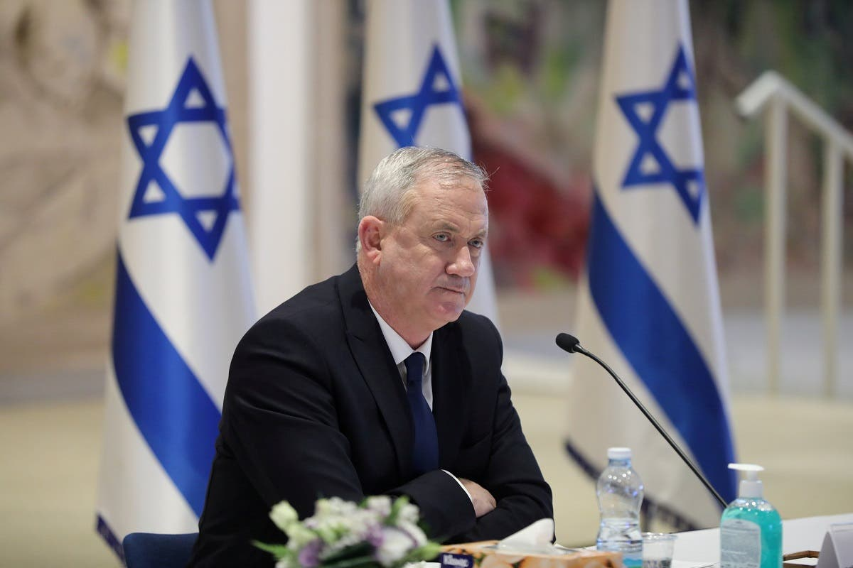 File photo of Israeli Defense Minister Benny Gantz. (Reuters)