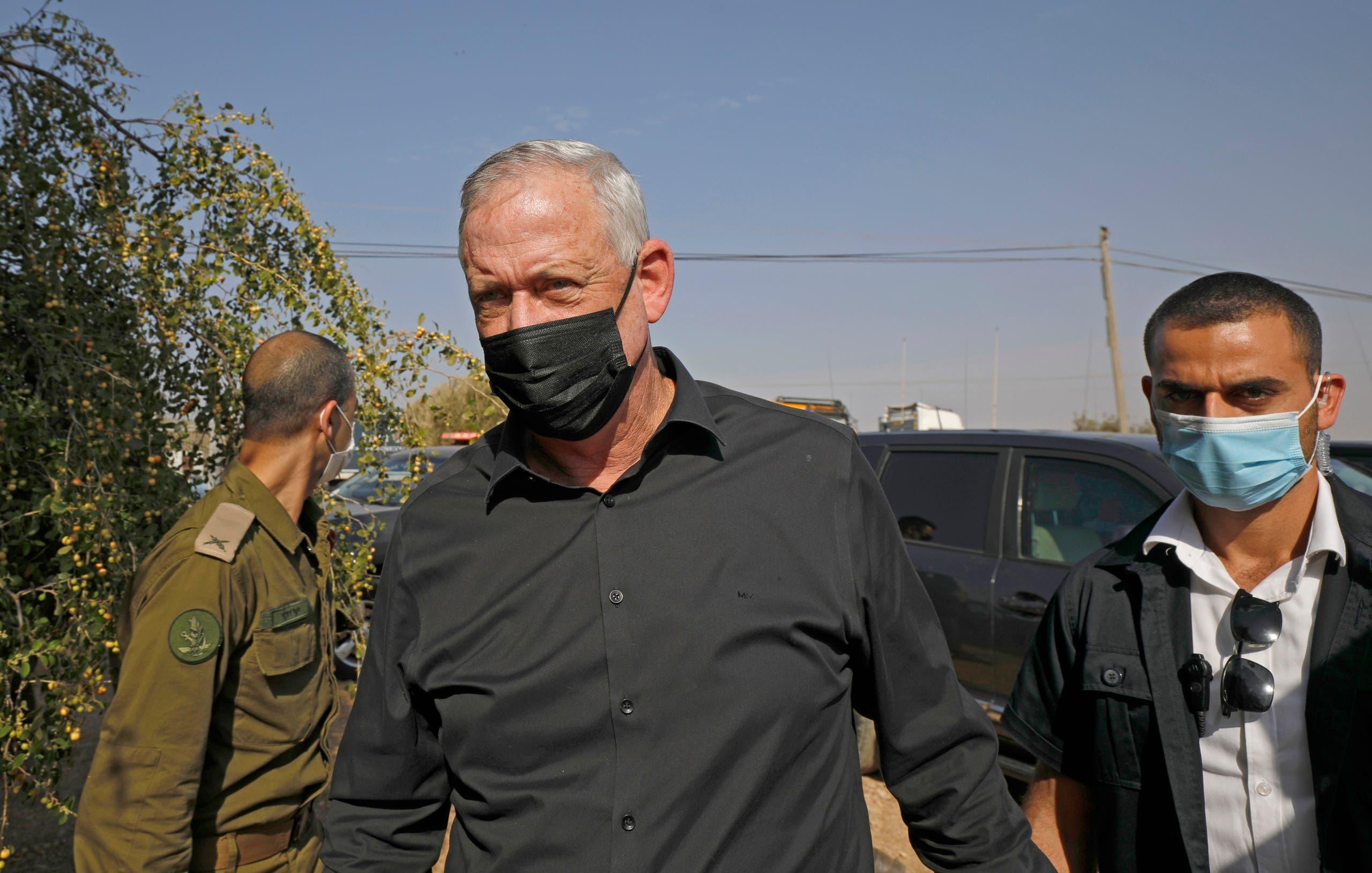 بنی گنز وزیر دفاع اسرائیل