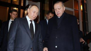 بوتين وأردوغان يبحثان الأوضاع في سوريا وليبيا وكاراباخ