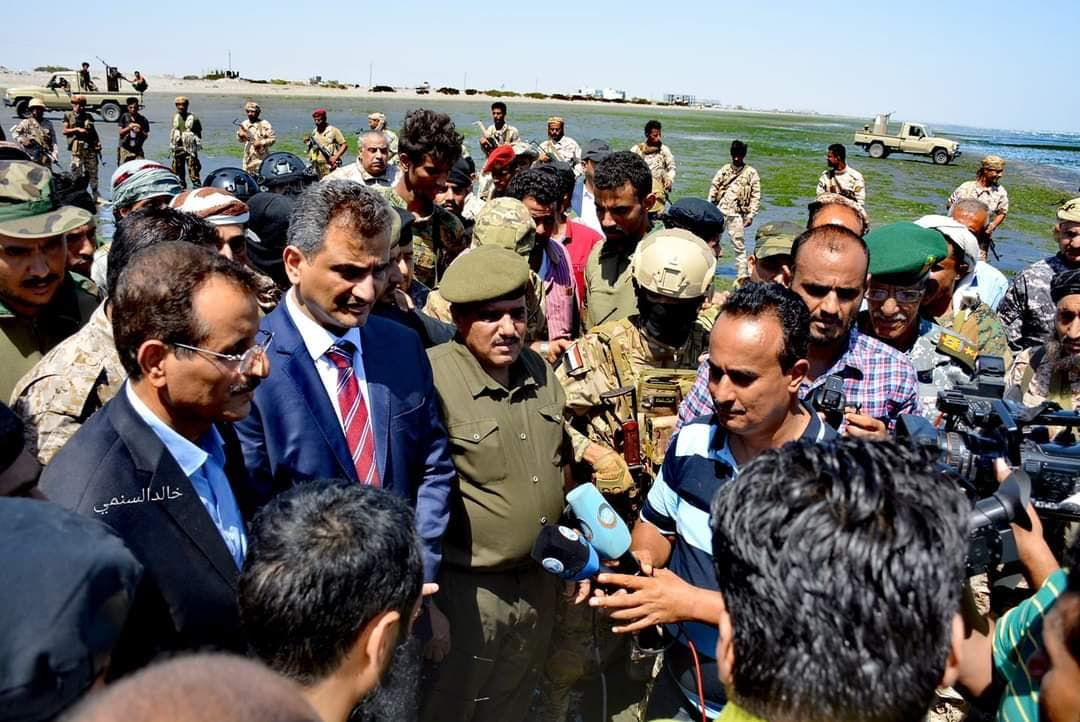 من عملية إتلاف مخدرات في اليمن