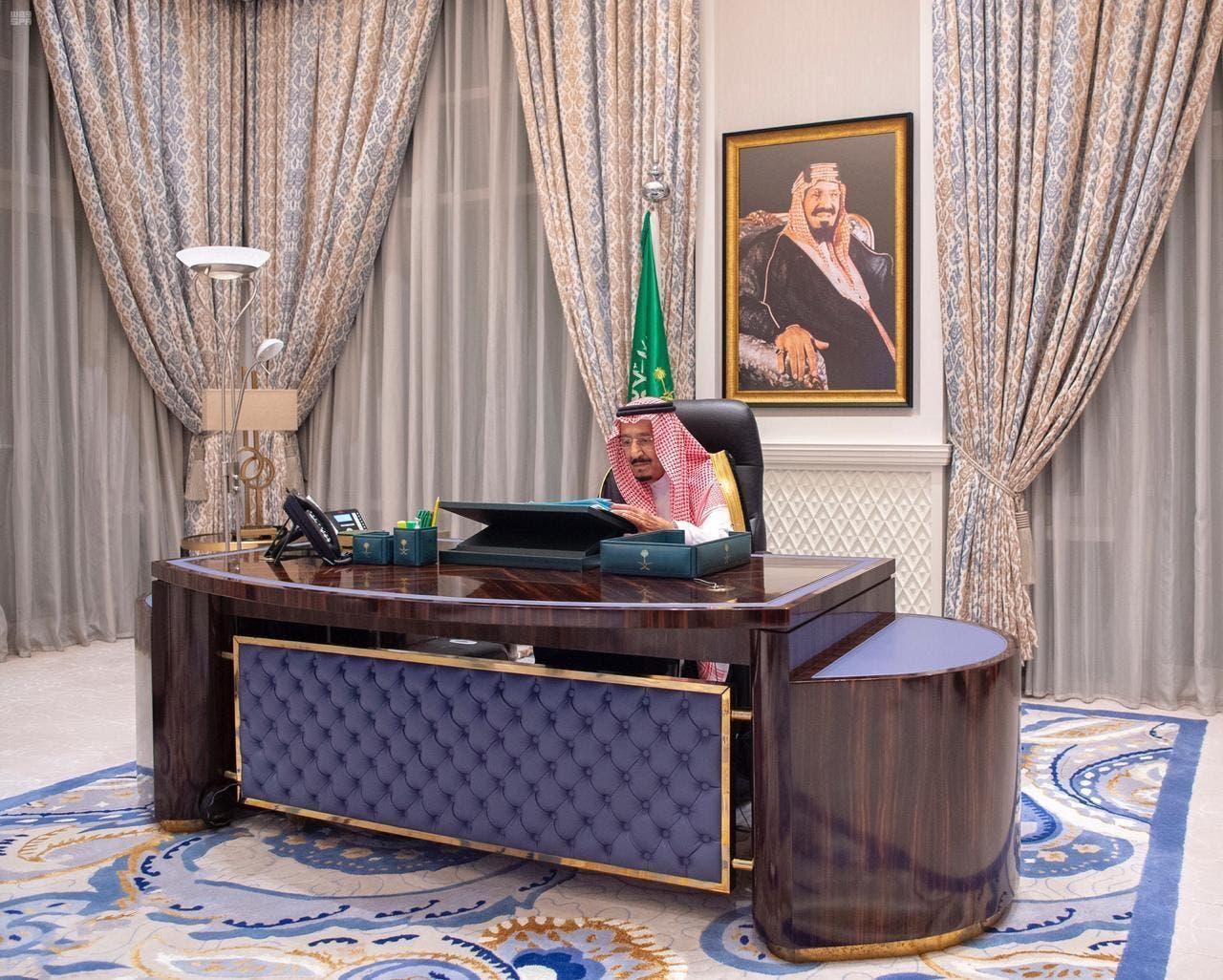 ملک سلمان بن عبدالعزیز آلسعود پادشاهی عربی سعودی