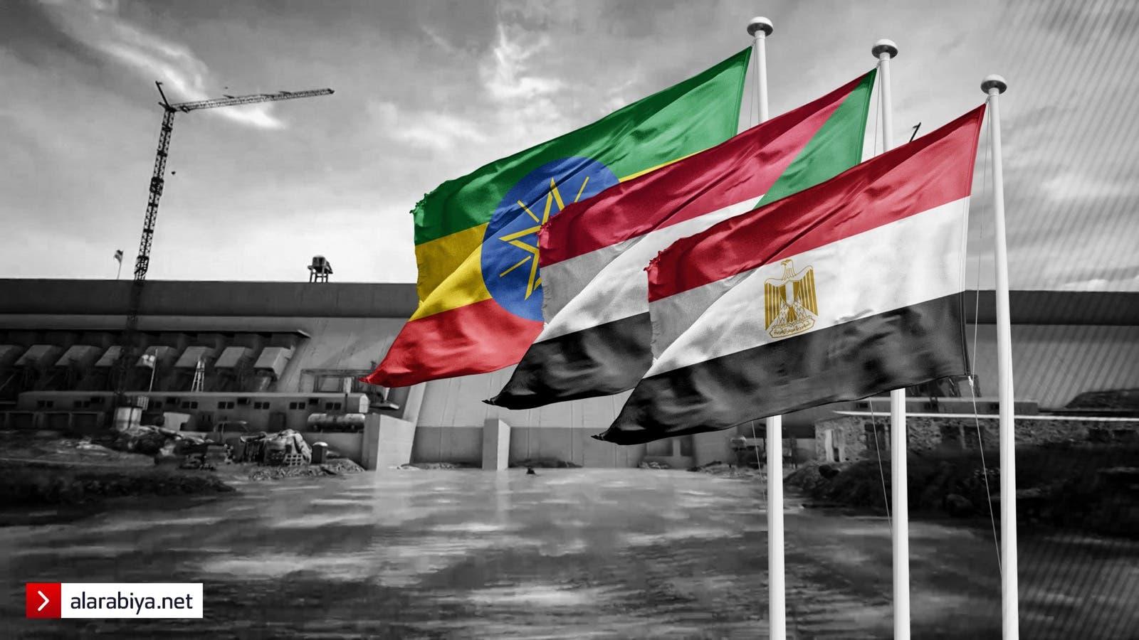 مصر أثيوبيا السودان وسد النهضة