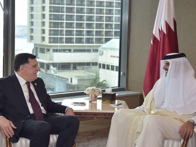 الوفاق تخرق اتفاق جنيف باتفاقية مع قطر