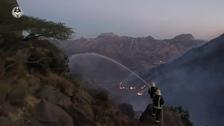 Saudi Arabia arrests 3 'Ethiopian infiltrators' linked to Ghulamah Mountain fire