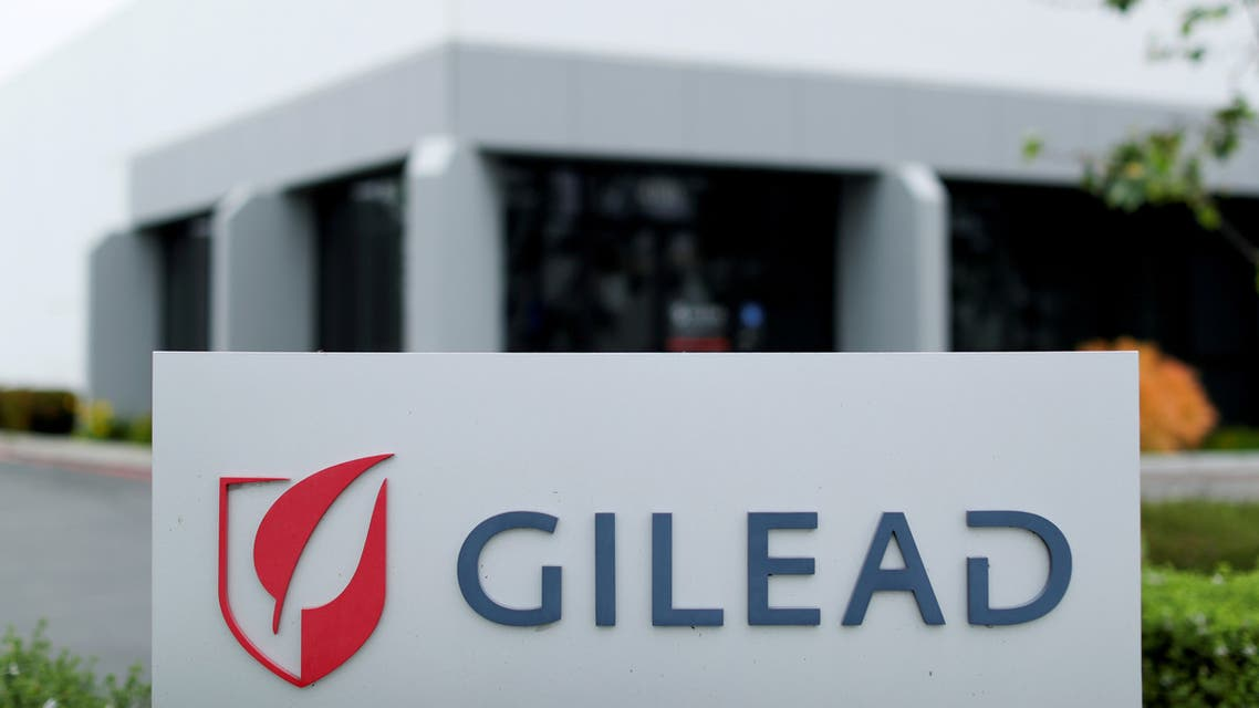FILE PHOTO: Gilead Sciences Inc pharmaceutical company is seen after they announced a Phase 3 Trial of the investigational antiviral drug Remdesivir in patients with severe coronavirus disease (COVID-19), during the outbreak of the coronavirus disease (COVID-19), in Oceanside, California, U.S., April 29, 2020. REUTERS/Mike Blake/File Photo