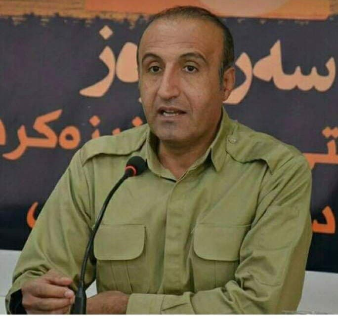 منصور مروتی عضو رهبری حزب دمکرات کردستان