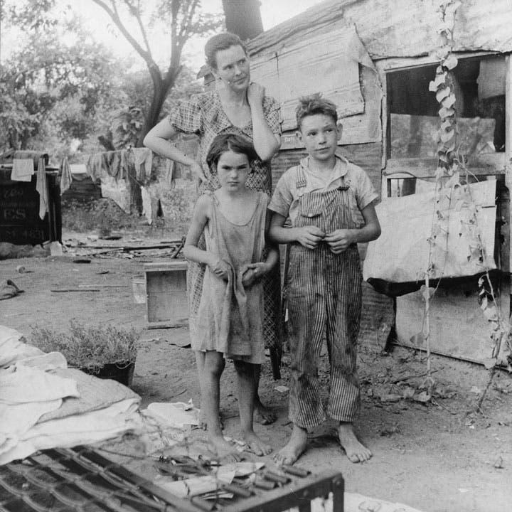 عائلة أميركية تشردت بسبب الأزمة الاقتصادية
