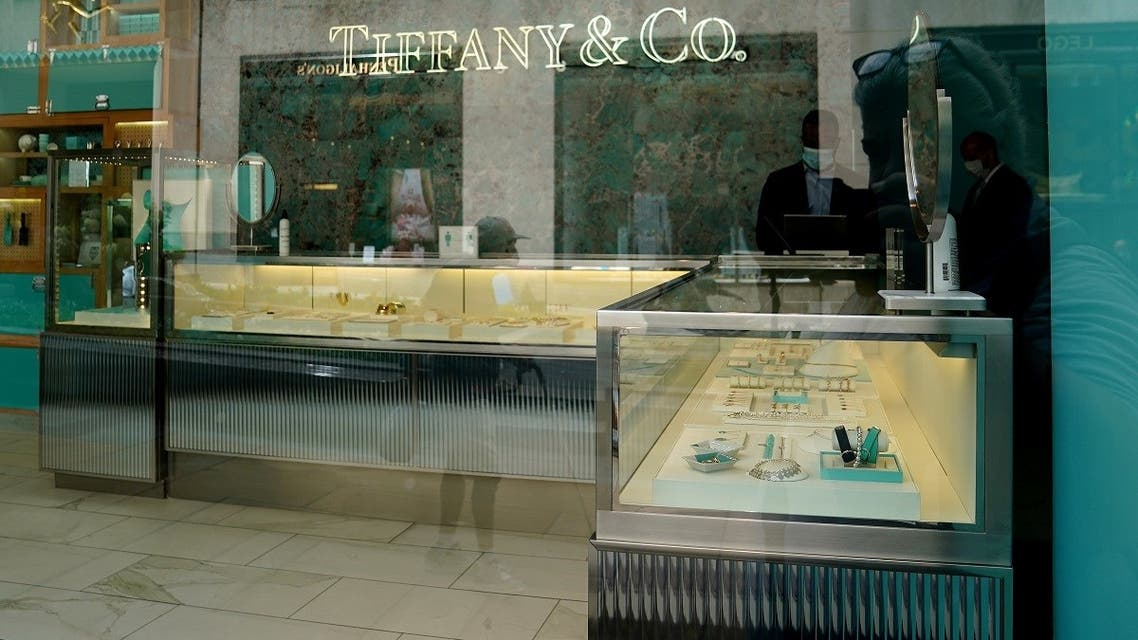 A Tiffany & Co. store is pictured in the Manhattan borough of New York City, New York, US. (Reuters)
