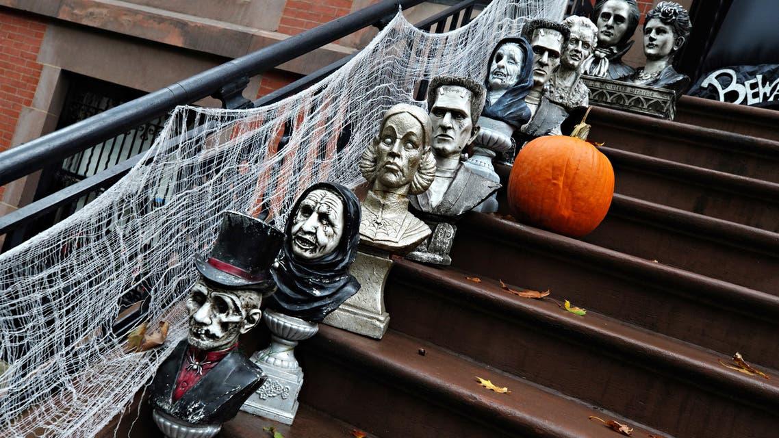 Halloween in New York - AFP