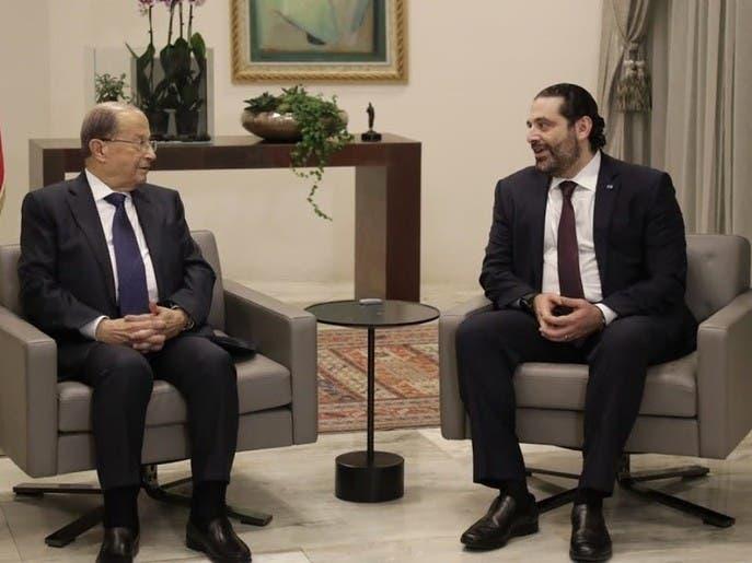 لقاءات مكثفة بين عون والحريري لتشكيل الحكومة