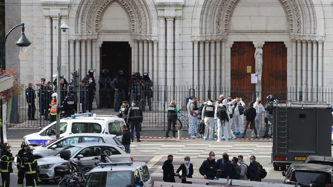 من مكان الهجوم في نيس (أرشيفية- فرانس برس)