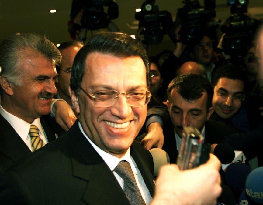 Mesut Yilmaz. (Reuters)