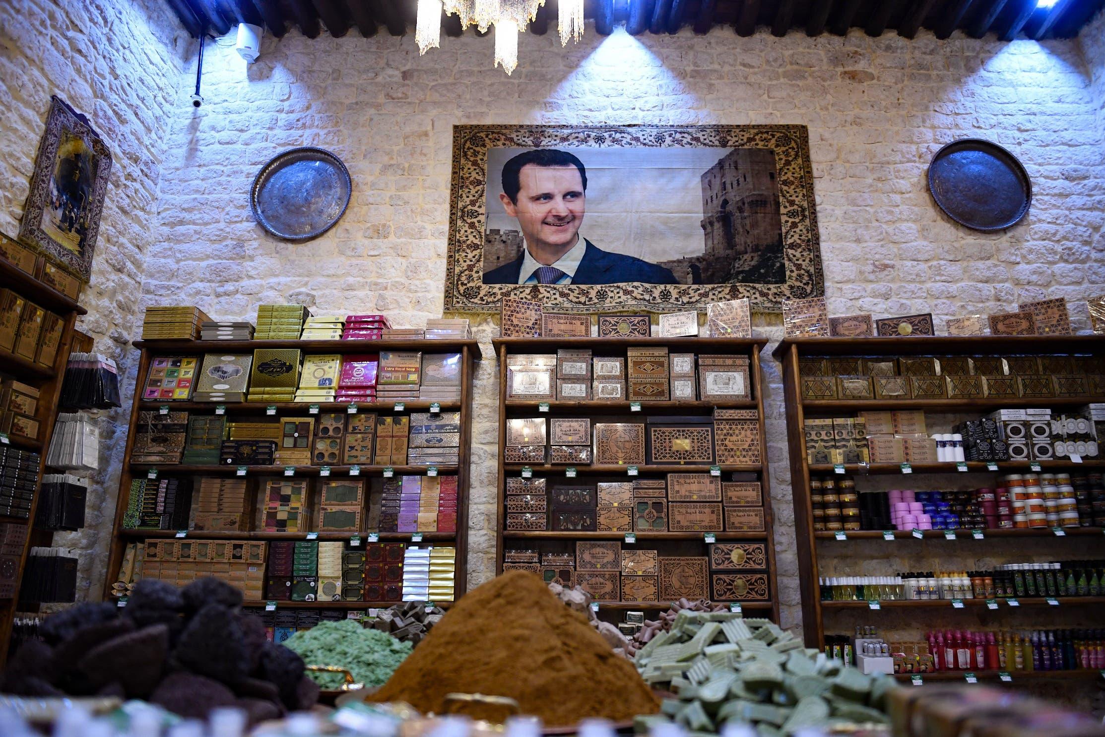من أحد المحال في دمشق (أرشيفية- فرانس برس)