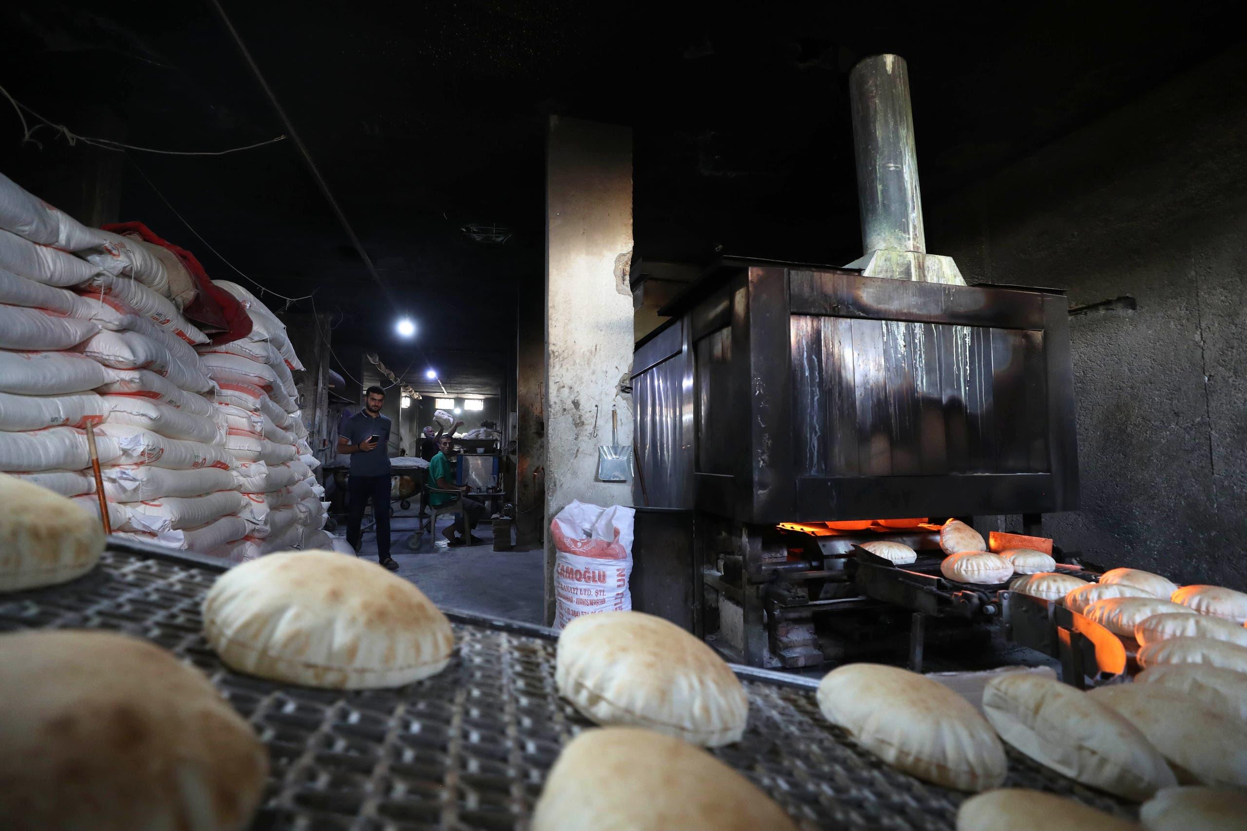 أزمة الخبز في سوريا(أرشيفية- فرانس برس)