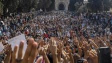 Thousands rally in Jerusalem against France's Macron over the Prophet cartoons