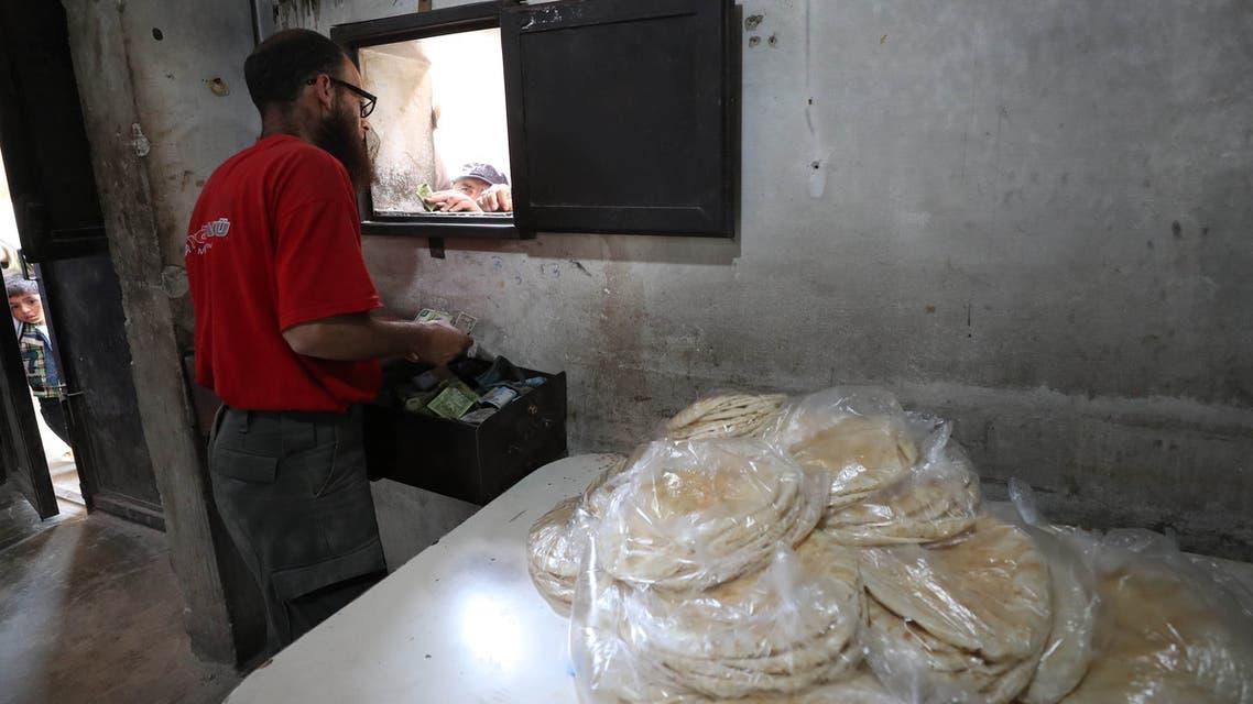 أزمة الخبز في سوراي (من إدلب- أرشيفية- فرانس برس)