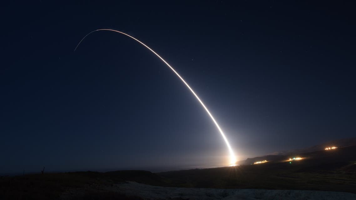 US Air Force successfully tested an unarmed Minuteman III intercontinental ballistic missile on October 29. (Twitter/@AFGlobalStrike)