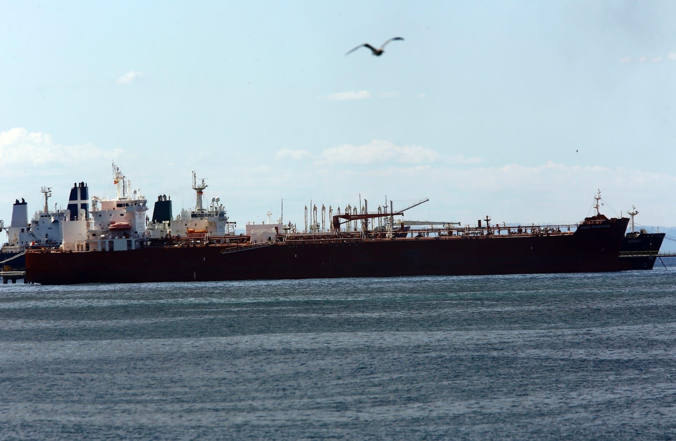 یک کشتی ایرانی در یکی از بنادر ونزوئلا