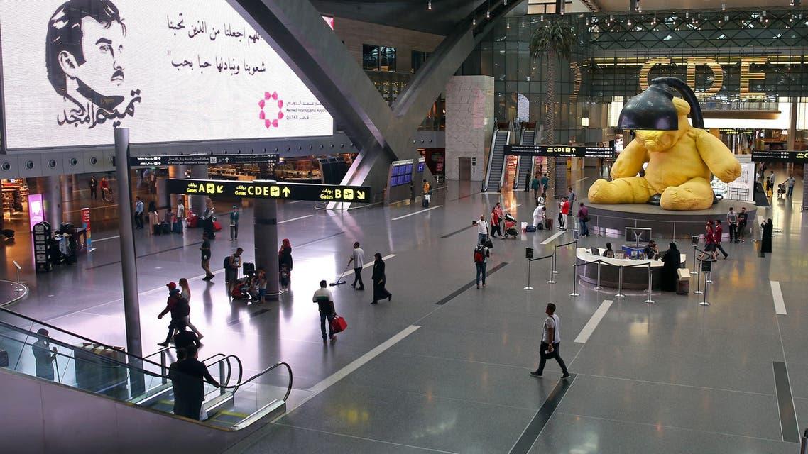 من مطار الدوحة (أرشيفية- فرانس برس)