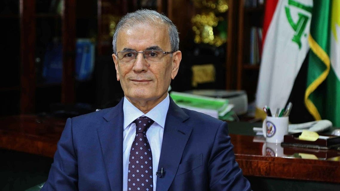 A file photo taken on September 14, 2017 shows Kirkuk provincial Governor Najmeddin Karim posing in his office in the eponymous northern Iraqi city. (Marwan Ibrahim/AFP)