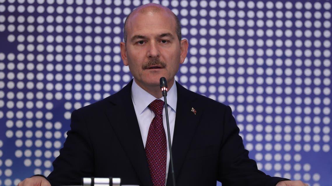 وزير الداخلية التركي سليمان صويلو (أرشيفية- فرانس برس)