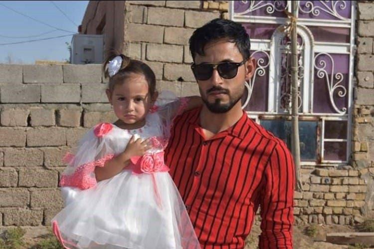 الناشط العراقي علي جاسب