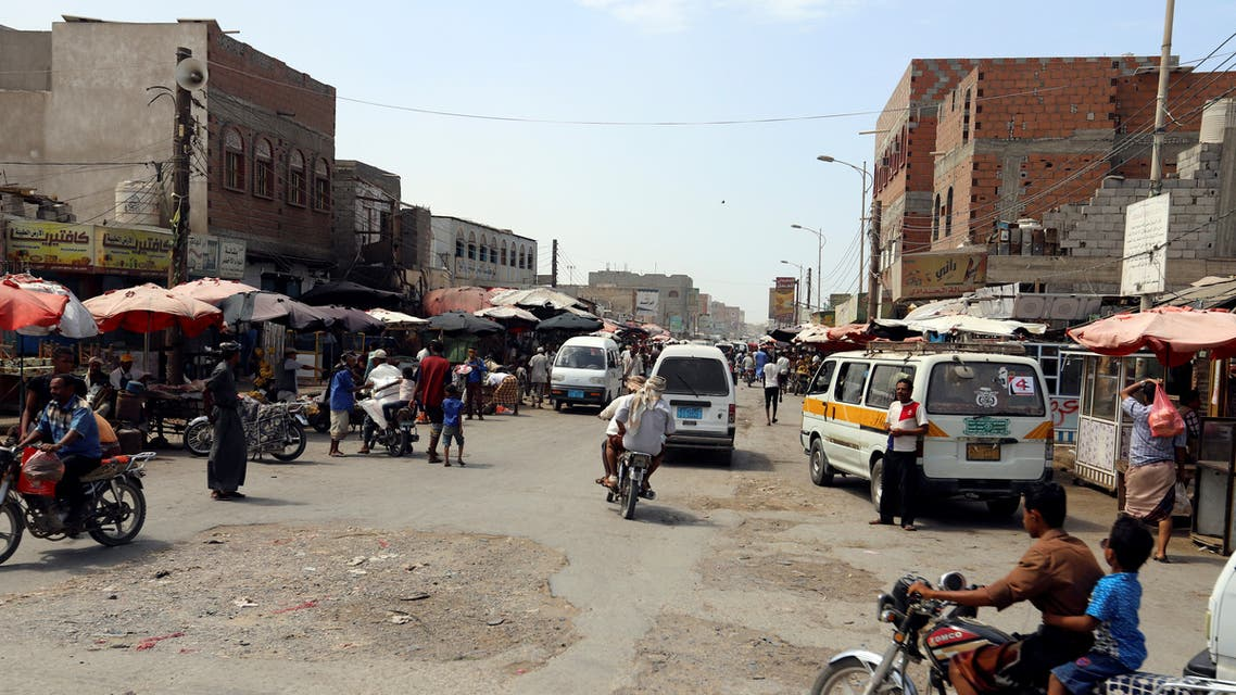 General view of a market on Sadam street in Hodeidah, Yemen March 25, 2019. REUTERS/Abduljabbar Zeyad