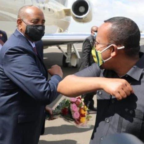 مع استئناف مفاوضات سد النهضة.. البرهان يصل الى إثيوبيا