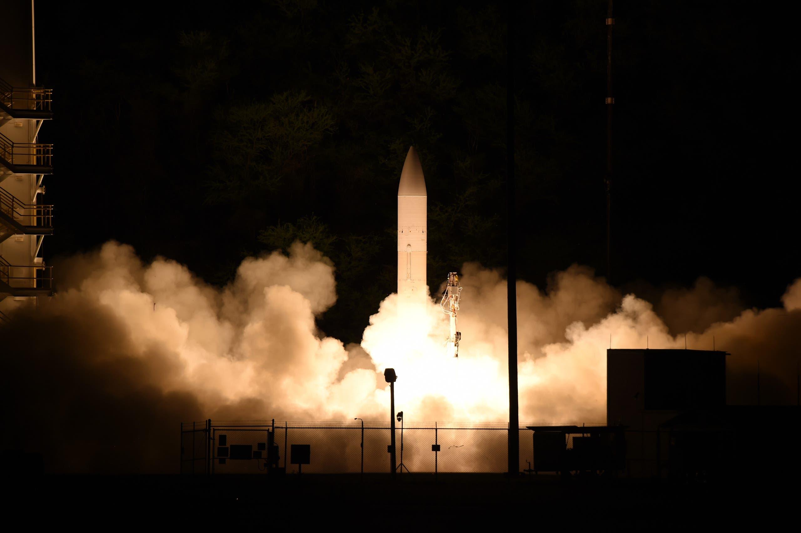 إطلاق صاروخ أميركي فائق السرعة في مارس الماضي